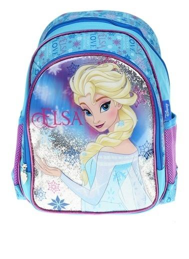 Frozen Okul Çantası Renkli